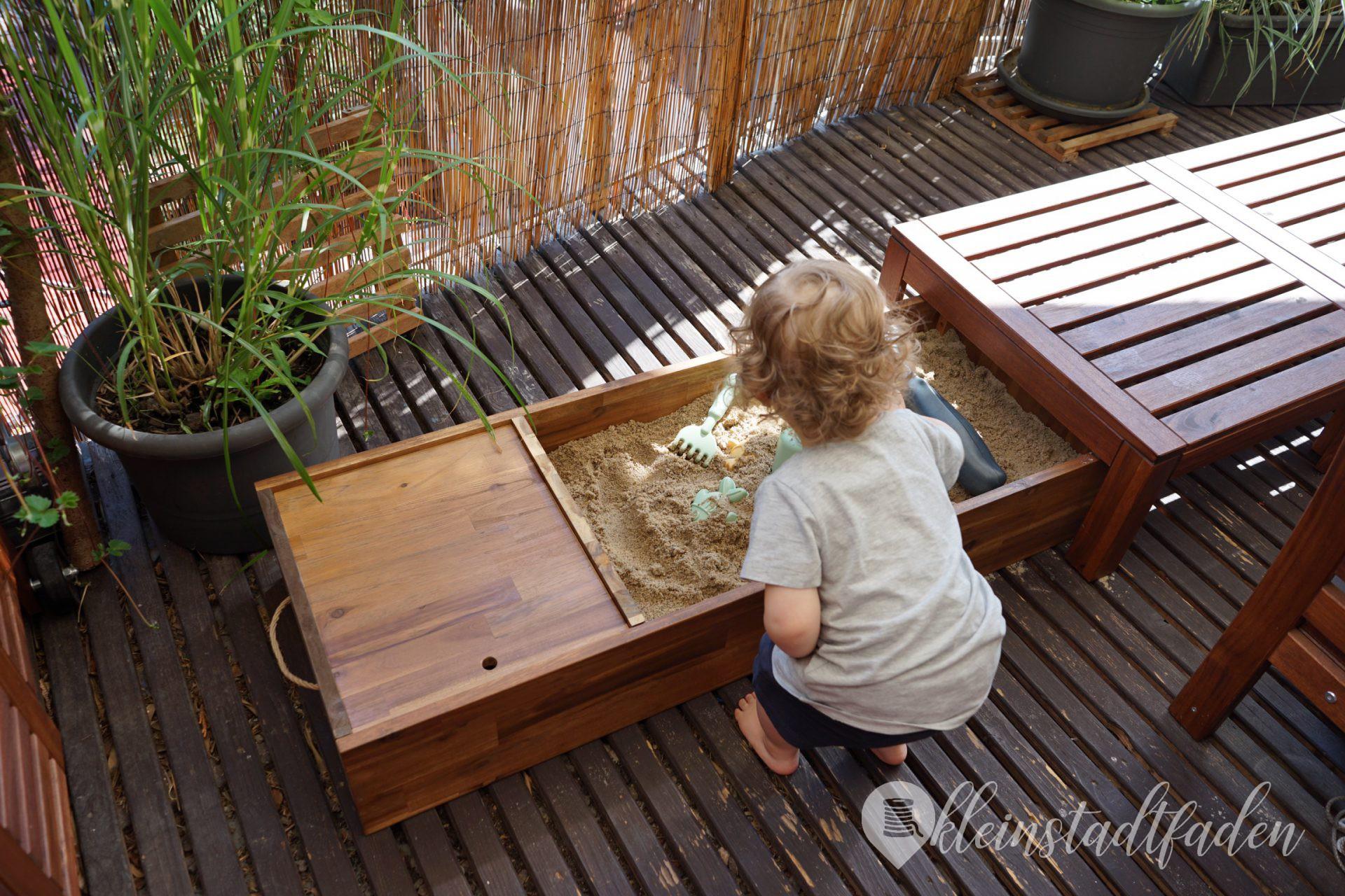 Ein Sankasten für unseren Balkon - Bauanleitung